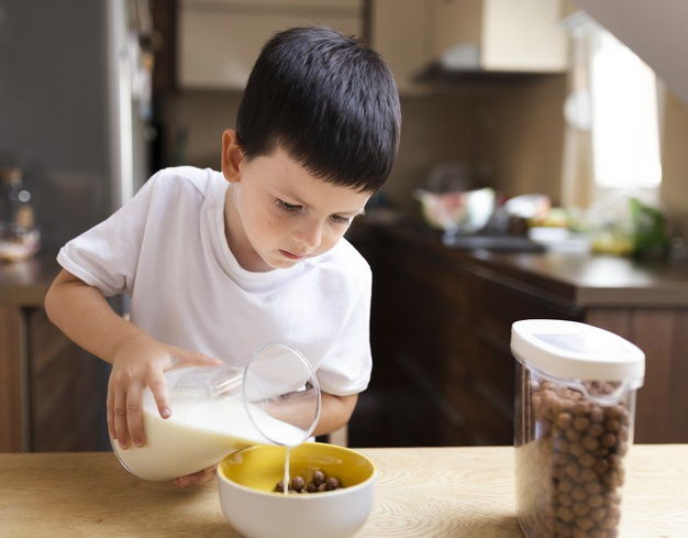 Child Nutrition at different ages